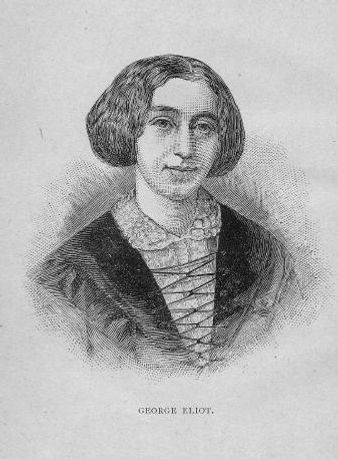 George Eliot. with portrait and index